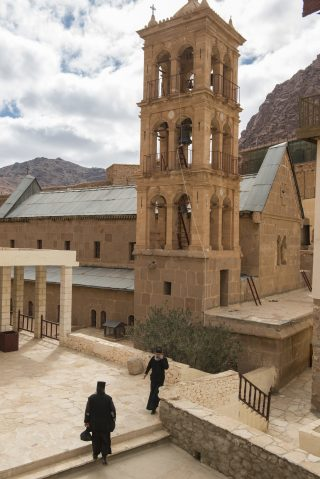 Good news from St Catherine's Monastery