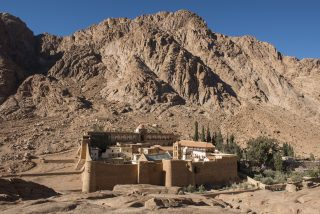 Uneasy holiness in the Sinai Desert