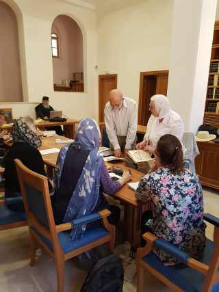 St Catherine's Monastery library re-opened